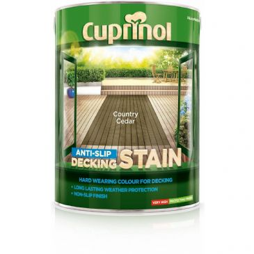 Cuprinol 5L Country Cedar decking stain